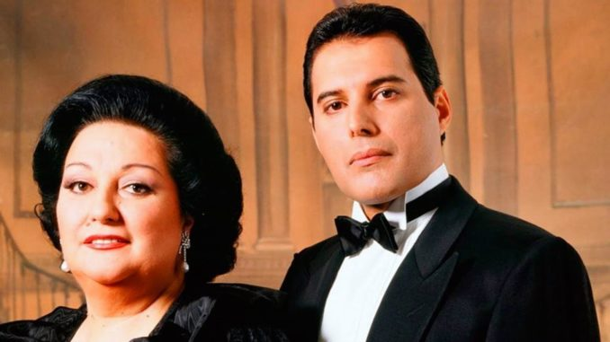 Cómo Freddie Mercury y Montserrat Caballé hicieron historia