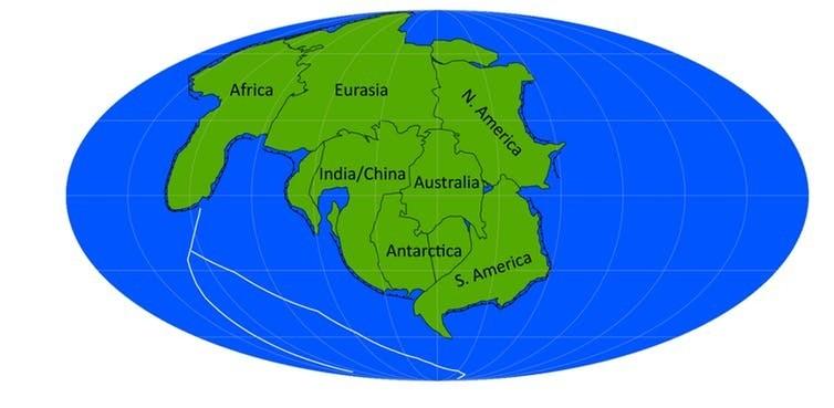 Así es como se verá la Tierra cuando se forme el próximo supercontinente.